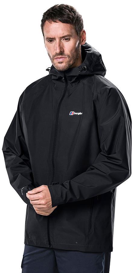 Berghaus Paclite 2.0 GORE-TEX Shell Waterproof Jacket, S Black