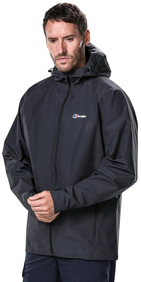 Berghaus Paclite 2.0 GORE-TEX Shell Waterproof Jacket, M Carbon