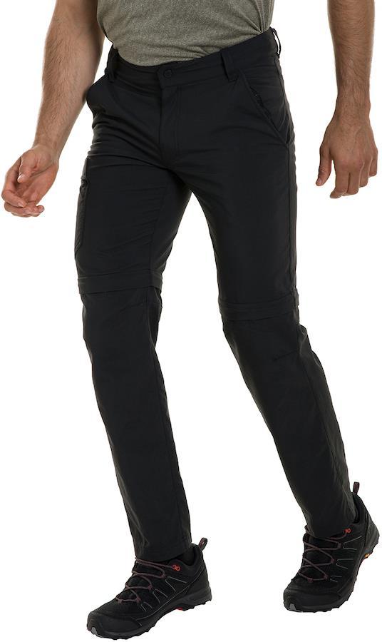 Berghaus Navigator 2.0 Regular Men's Zip Off Hiking Trousers, S Black