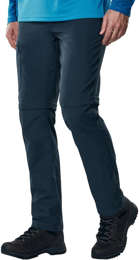 Berghaus Navigator 2.0 Regular Men's Zip Off Hiking Trousers, XS Blue