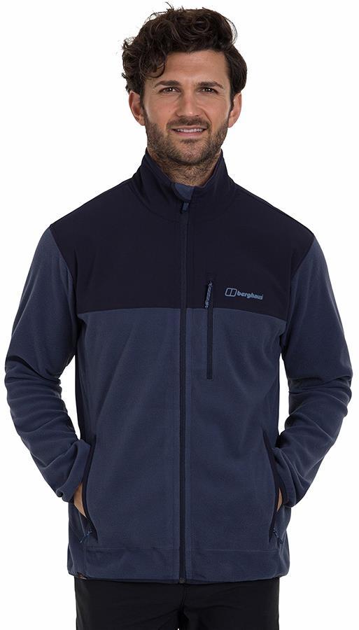 Berghaus Kyberg Full-Zip Polartec Thermal Fleece Jacket, L Indigo