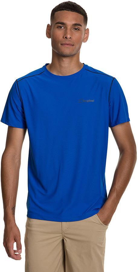 Berghaus 24/7 Tech Short Sleeve Baselayer Crew T-Shirt, S Lapis Blue