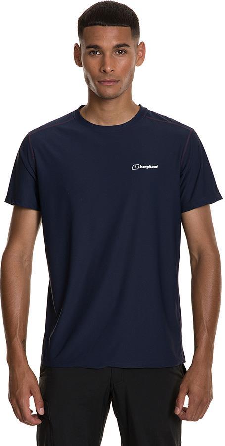 Berghaus 24/7 Tech Short Sleeve Baselayer Crew T-Shirt, L Dusk