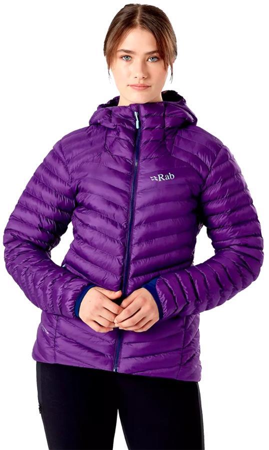 Rab Cirrus Alpine Women's Insulated Jacket, UK 12 Blackcurrant