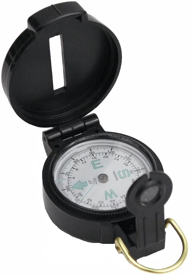 Coghlan's Lensatic Pocket Map Compass, Black