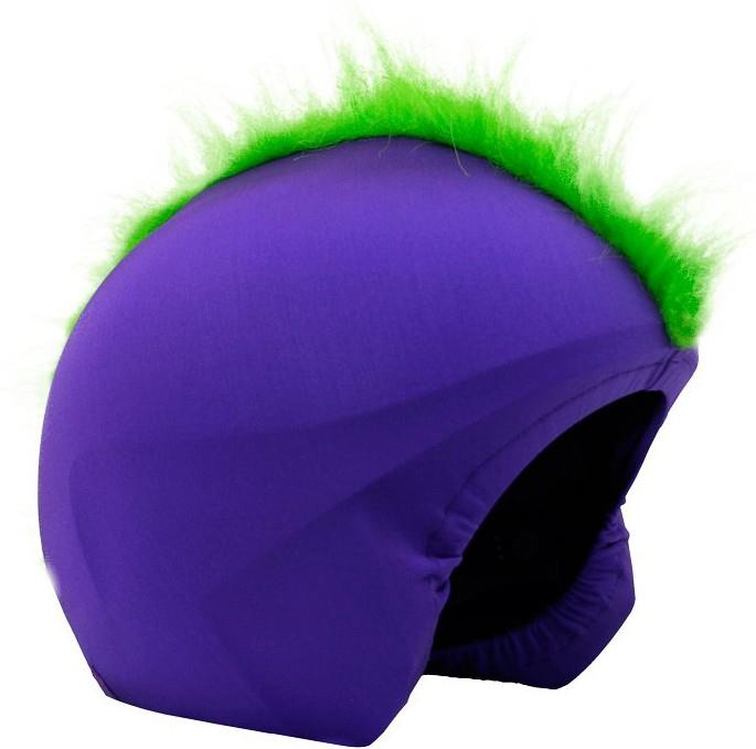 Coolcasc Show Time Ski/Snowboard Helmet Cover, One Size Furry Green
