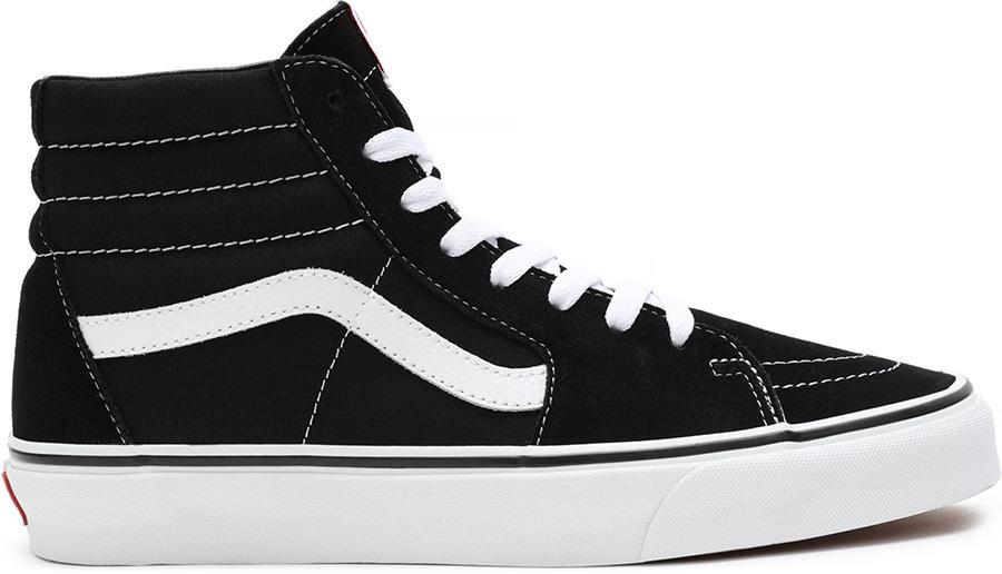 Vans Sk8-Hi Skate Trainers/Shoes, UK 9 Black/Black/White