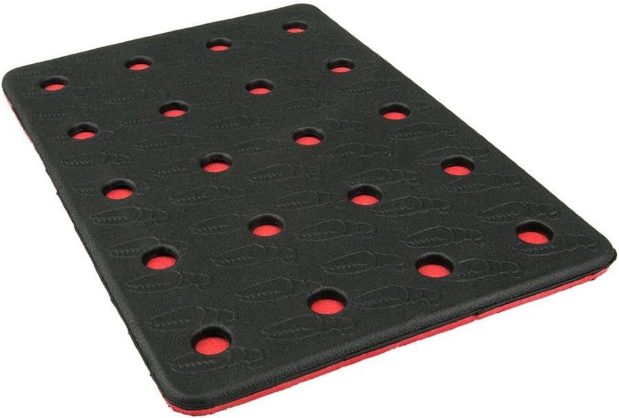 Crab Grab Holey Sheet Snowboard Stomp Pad, N/A Black/Red