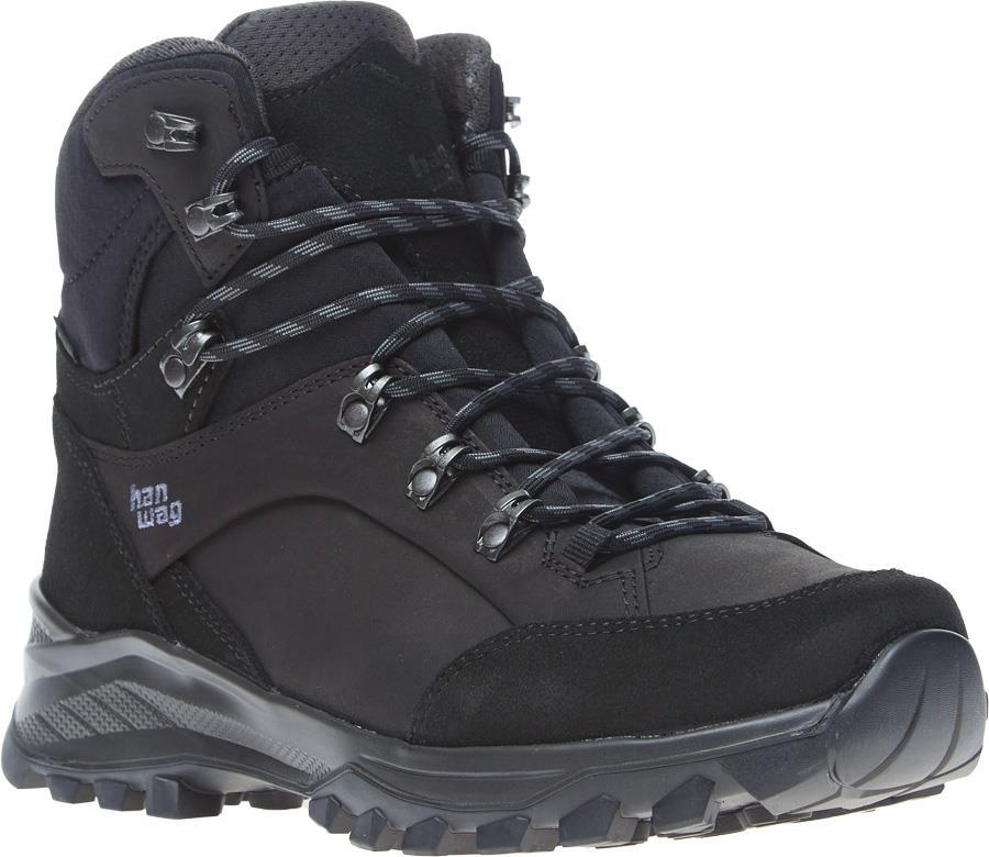 Hanwag Banks GTX Hiking Boots UK 9 Black/Asphalt