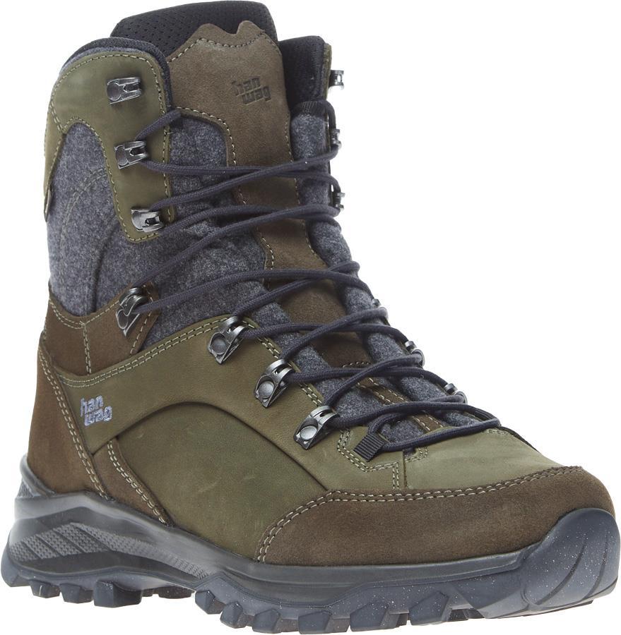Hanwag Banks Winter GTX Hiking/Mountaineering Boots UK 10.5 Asphalt