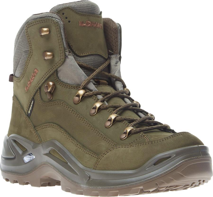 Lowa Adult Unisex Renegade Gtx Mid Men's Gore-Tex Hiking Boots, Uk 7 Basil