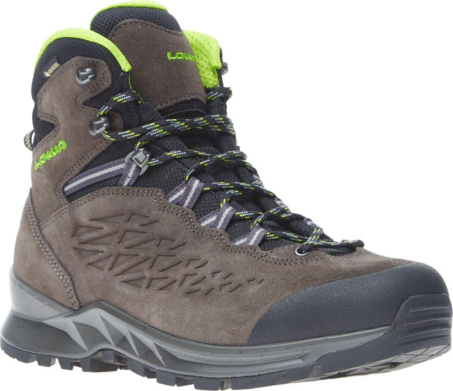 Lowa Explorer Mid Gore-Tex Hiking Boots, UK 7 Anthracite/Lime