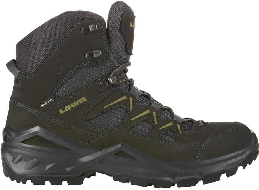 Lowa Sirkos Evo GTX Mid Gore-Tex Hiking Boots, UK 7 Anthracite