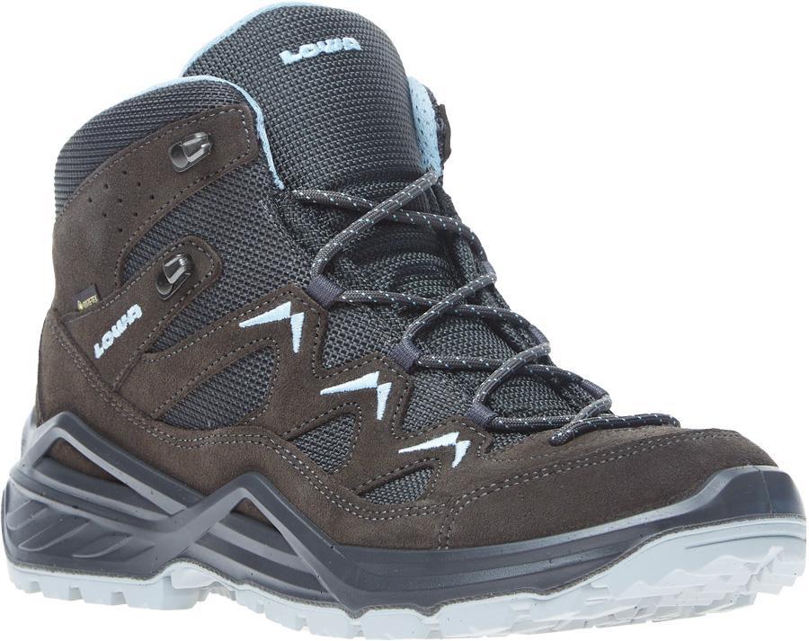 Lowa Sirkos Evo Gore-Tex Mid Women's Hiking Boots UK 7 Blue