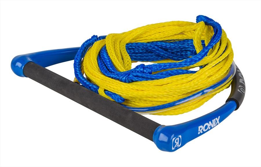 Ronix Combo 1.0 Wakeboard Handle Line Combo, 60' Yellow Blue 2021