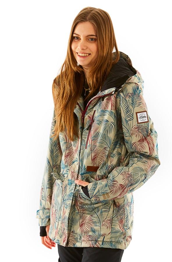 Planks Good Times Women's Ski/Snowboard Jacket, M L.A. Palm