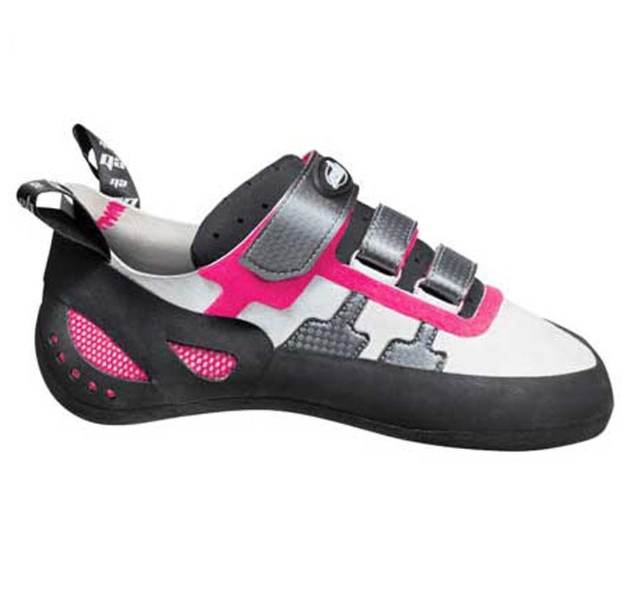 EB Django Women's Rock Climbing Shoe UK 5 | EU 38 Pink/Grey