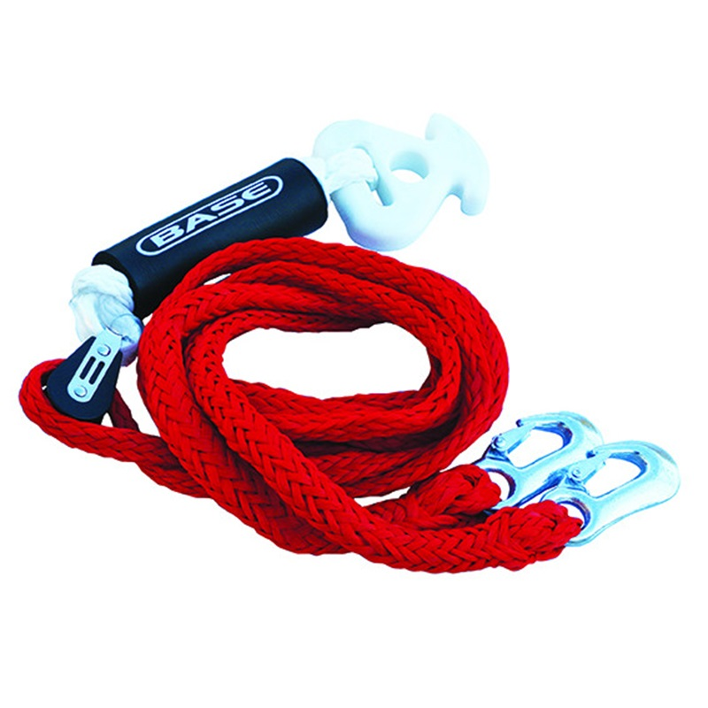 Base Bridle Tow Harness With Pulley, W/ Pulley Red