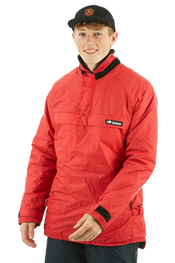 Buffalo Special 6 Shirt Pullover Technical All Weather Jacket S Red