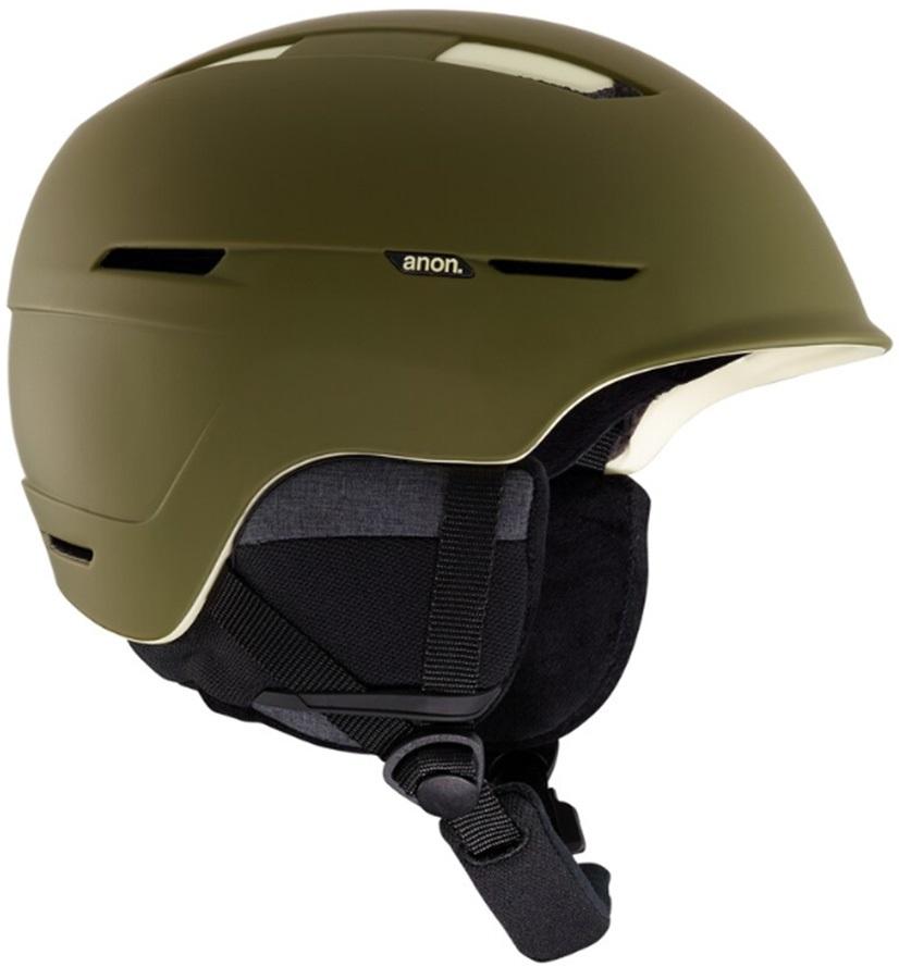 Anon Invert Ski/Snowboard Helmet, S Olive