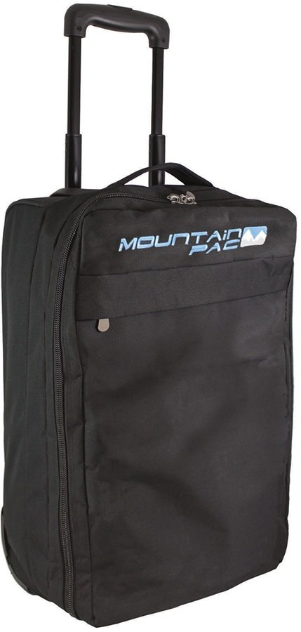Mountain Pac Wheely Cabin Bag Luggage, 40L, Black