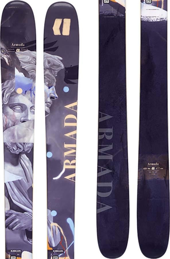 Armada ARV 96 Skis 184cm, Grey/Orange, Ski Only, 2021