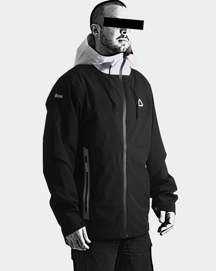 Follow Outer Spray Twelker Layer 3.1 Jacket, L Black 2021