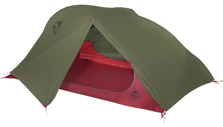 MSR FreeLite 2 V2 Ultralight Backpacking Tent, 2 Man Green