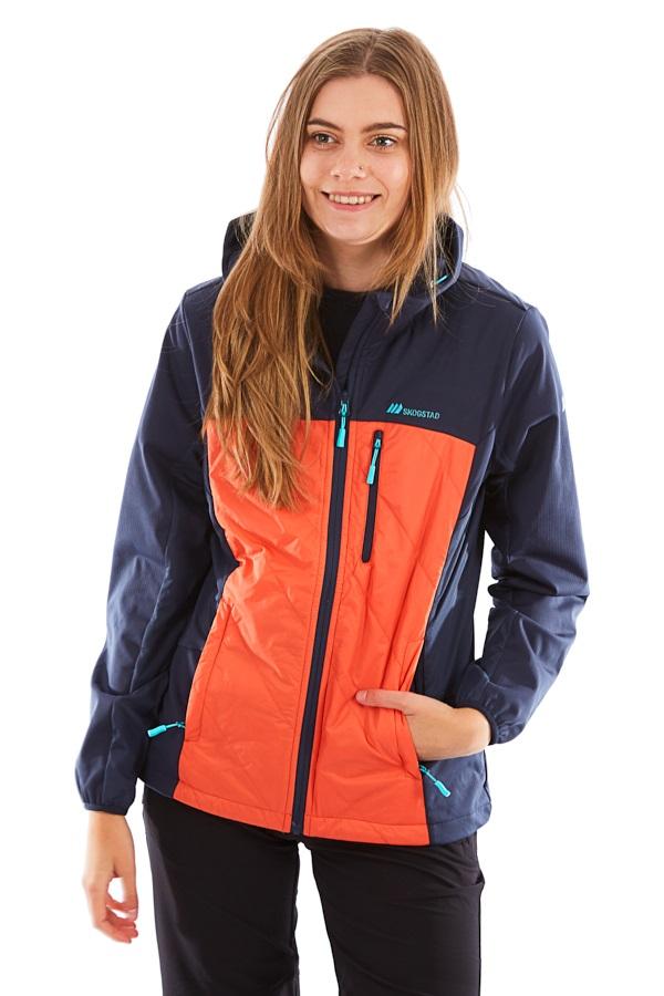 Skogstad Solund Hybrid Women's Softshell Jacket, M Hot Fire