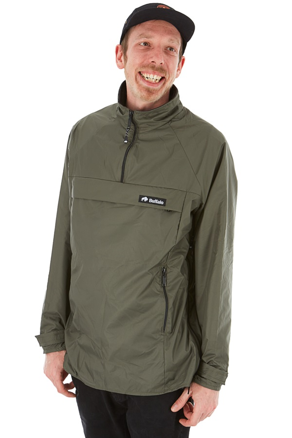 Buffalo Active Lite Shirt Technical All Weather Jacket L Slate
