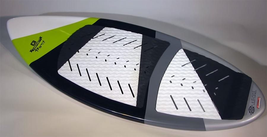 "O'Brien Tesani Skim Style Wakesurfer, 64"" Black"