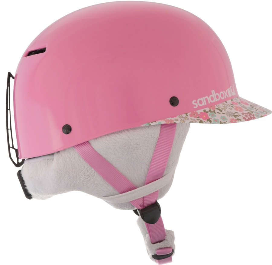 Sandbox Classic 2.0 Snow Kids Ski/Snowboard Helmet, Kids Flower Power
