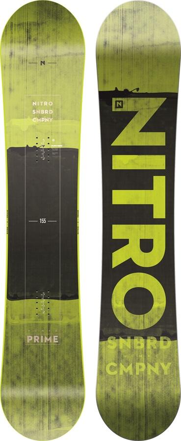 Nitro Prime Toxic Zero Camber Snowboard, 155cm 2019