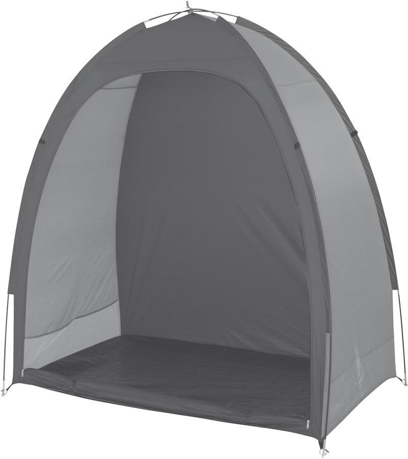 Bo-Camp Bike Shelter Bicycle & Gear Storage Tent, Grey