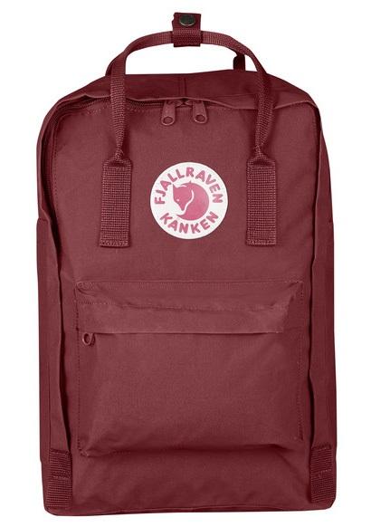 """Fjallraven Kanken Laptop 15"""" Backpack, 18L Ox Red"""