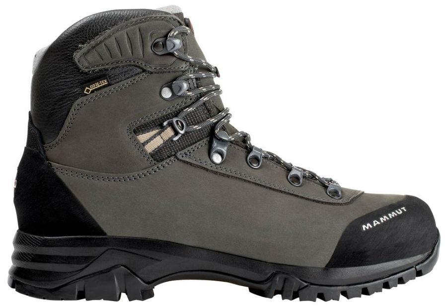 Mammut Trovat Advanced High GTX® Women's Hiking Boots, UK 4 Black-Grey