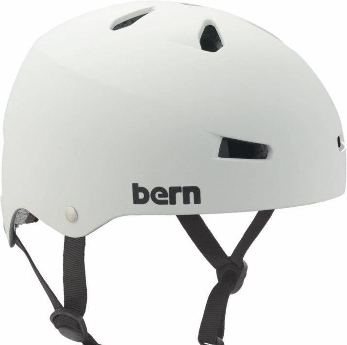 Bern Mens Macon EPS Naked Helmet, Matte White