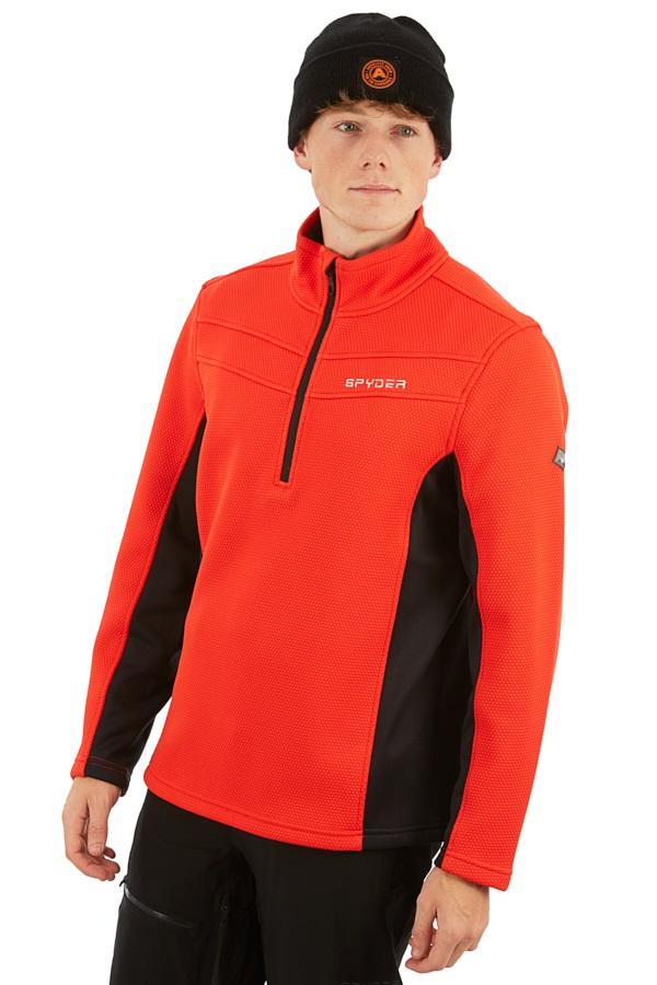 Spyder Encore Half-zip Fleece Jacket, L Volcano