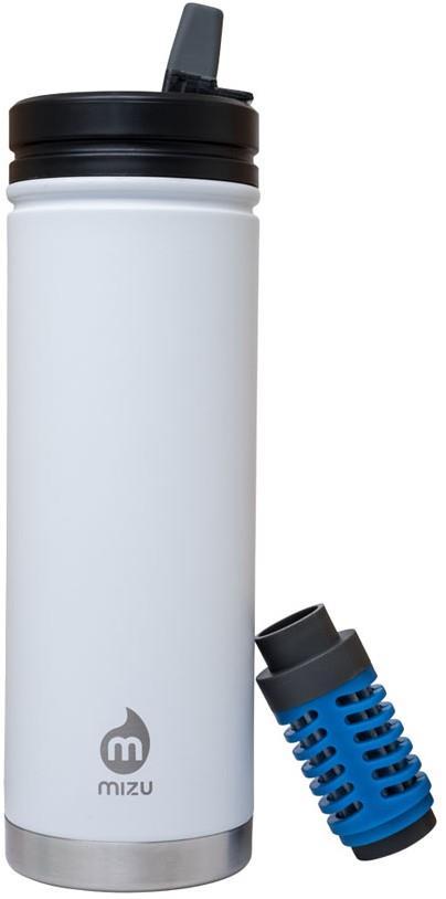 Mizu 360 V7 Everyday Filter Insulated Water Bottle, 650ml White
