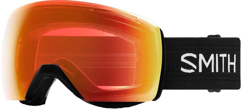 Smith Skyline XL CP Everyday Red Snowboard/Ski Goggles, L Black