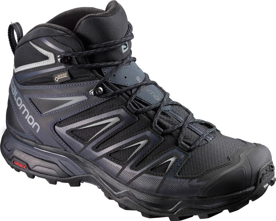Salomon X ULTRA 3 Mid GTX Hiking Boots, UK 10.5 India Ink