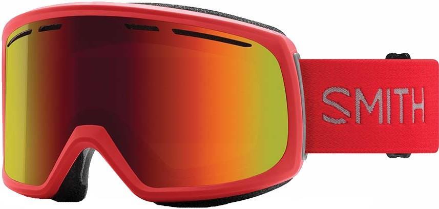 Smith Range Red Sol-X Mirror Snowboard/Ski Goggles, L Rise