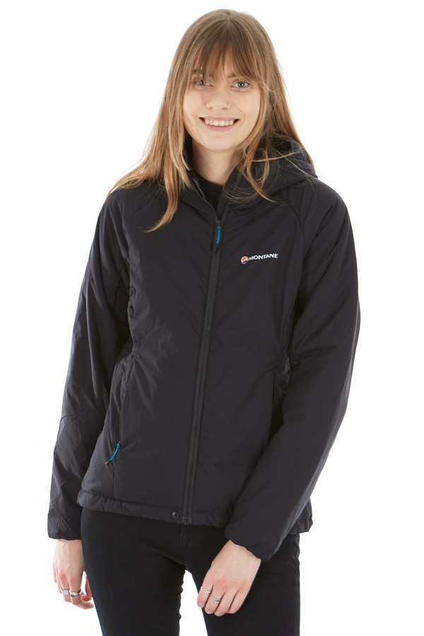 Montane Womens Prismatic Women's Insulated Hiking Jacket, UK 12 Black
