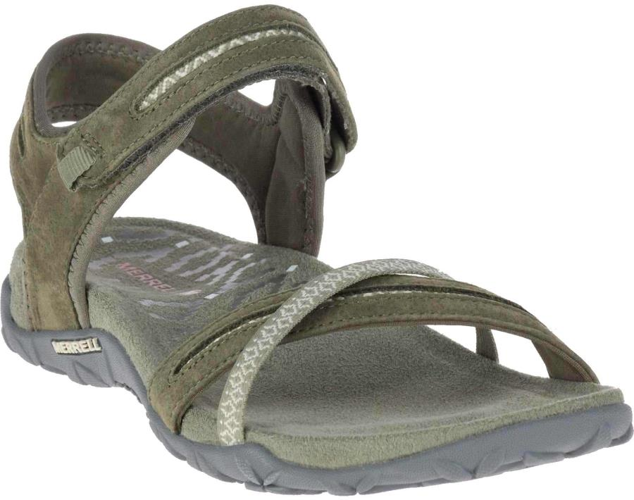 Merrell Terran Cross II Women's Sandals, UK 6 Dusty Olive