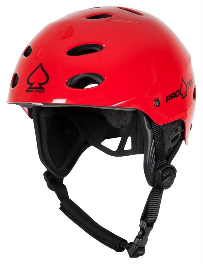 Pro-tec Ace Wake Watersport Helmet XS Red Gloss