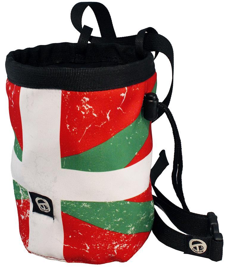 Charko Flag Bags Rock Climbing Chalk Bag, Regular Ikurrina