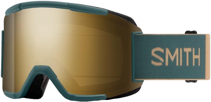 Smith Squad CP Sun Black/Gold Snowboard/Ski Goggles, M Spruce Safari