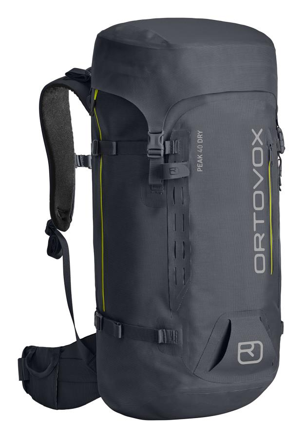 Ortovox Peak Dry 40 Climbing & Mountaineering Pack 40L Black Steel