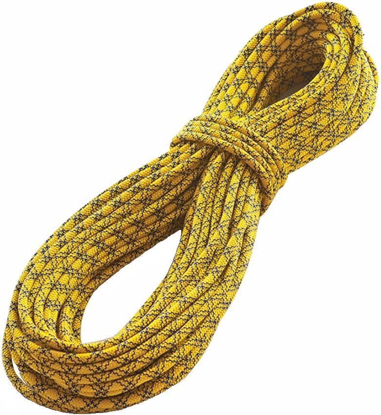 Tendon Ambition Rock Climbing Rope 50m x 8.5mm Yellow/Blue