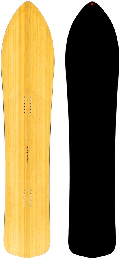 Gentemstick Fly Fisk Hybrid Camber Snowboard, 164cm 2021